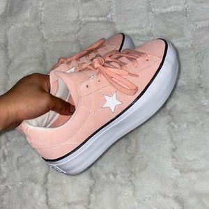 Converse Pink Platforms